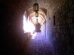 Beautiful Hallway Shot at the Castle