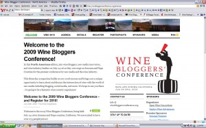 2009 North American Wine Bloggers' Conference