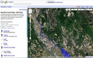 Napa River Terroir Project map