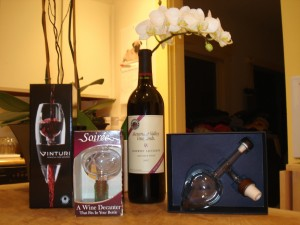 Wine Aerator Airoff - The contenders!