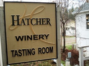 Hatcher Winery Tasting Room