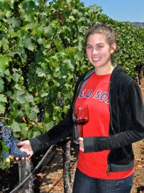 Huge Bear Wines Winemaker Meredith Cahill-Marsland