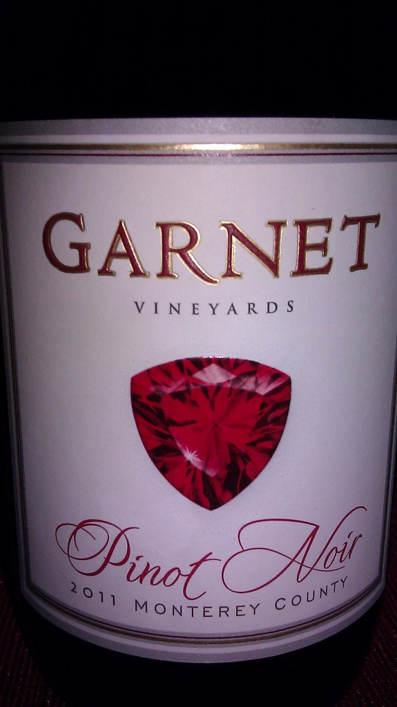 Garnet Vineyards Monterey Pinot Noir