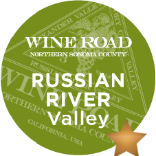 The Russian River Valley�s climate is what makes it notable. This low-lying flat plain extends south and west of Healdsburg as it winds its way along the Russian River and descends to meet the Pacific at Jenner, then makes it way toward the Golden Gate Bridge, ending about 55 miles north of this landmark. This area thrives due to the coastal influences of the Pacific Ocean, which makes it an exceptional place for growing coolclimate grapes like P