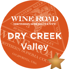 In many ways, Dry Creek Valley is quintessentially Sonoma County-- where warm days are tempered by morning fog from the Pacific and food-friendly varieties like Sauvignon Blanc and Zinfandel boldly emerge, both on the narrow valley floor and the wooded hillsides above. Originally planted by French immigrants in 1870, Italian pioneers soon discovered a geography that was reminiscent of their native Tuscany and Piedmont. They planted Petite Sirah,