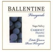 Ballentine Vineyards Cabernet Franc