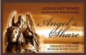 Lionheart Wines Russian River Valley Saralee's Vineyard The Angel's Share